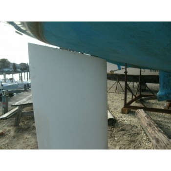 O'day 31 High Performance HDPE Spade Rudder