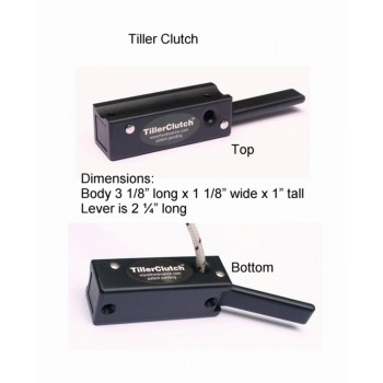 TillerClutch X TM ( for large keel boats)